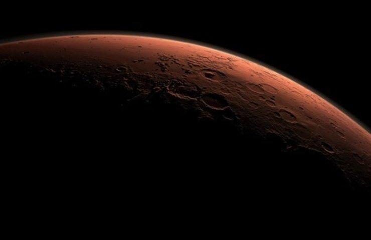 Mars'ta demir zengini kayalar keşfedildi