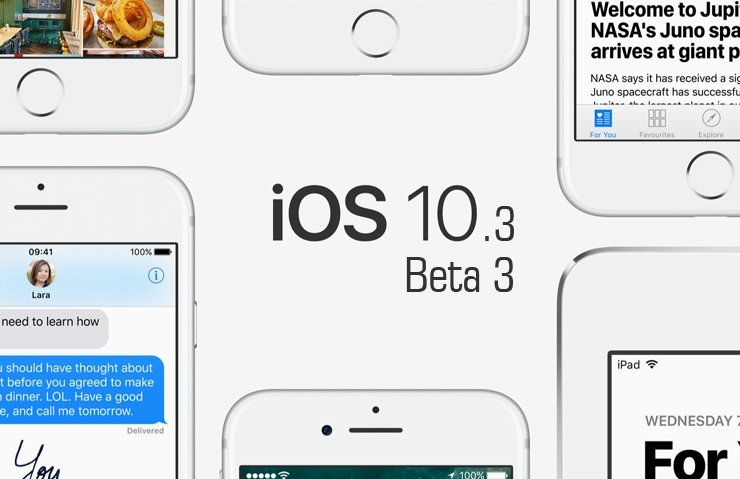 APPLE, İOS 10.3 BETA 3 NELER GETİRİYOR?