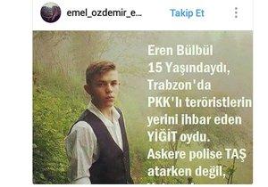 Sosyal medya 15 yaşındaki Trabzonlu kahraman için ayakta!