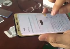 Samsung Galaxy S8'in dokunmatik hassasiyetini test ettiler
