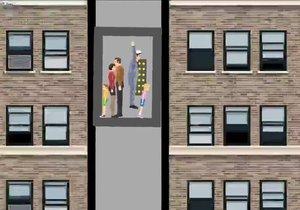 Düşen asansörde hayatta kalmanın yolları