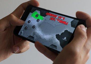 Zeytin Dalı Harekatı'nın mobil oyununu yaptılar