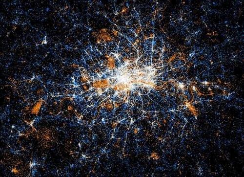 Dünya sosyal ağ haritası