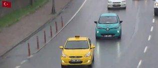 İstanbul'da elektrikli taksi dönemi başlıyor