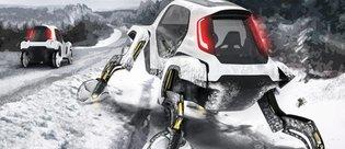 Hyundai 'yürüyen otomobil' modeli Elevate'yi tanıttı!