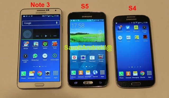 Galaxy S5'in fotoğrafları sızdırıldı!