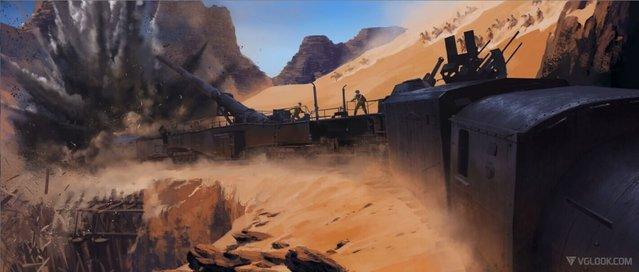 Battlefield 1'den yeni konsept görüntüler yayınlandı