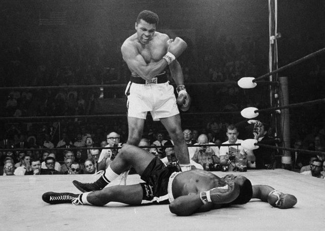 Efsane fotoğrafları ve yaklaşık 2 dakika süren şampiyonluk maçıyla Muhammed Ali!
