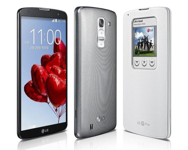 LG G Pro 2 resmen duyuruldu!