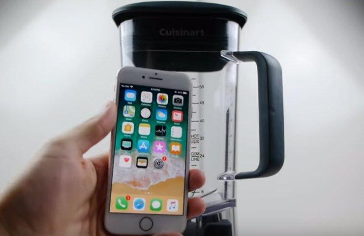 iPhone 8 ve Galaxy S8, Blender testinde karşı karşıya geldi