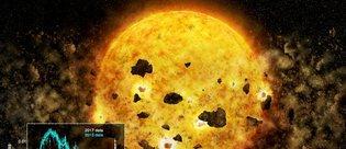 İlk kez bir gezegenin yıldız tarafından yutuluşu kaydedildi