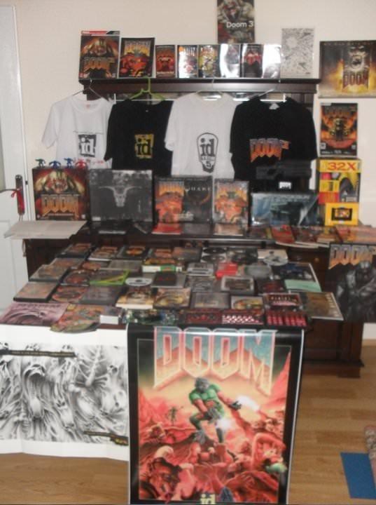 Dünyanın en büyük Doom koleksiyonuna bir Türk sahip