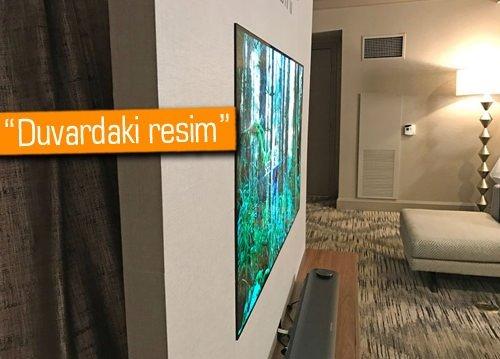 CES 2017: LG'den kredi kartı kalınlığında 4K OLED TV: LG W7