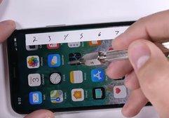 iPhone X bükülme, yanma ve çizilme testine girdi