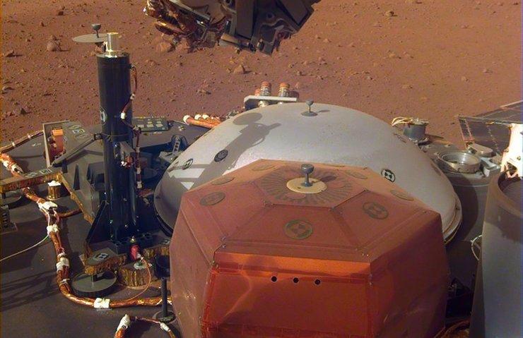 MARS'IN SESİ İLK KEZ DUYULDU
