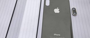 iPhone 8'in ön ve arka paneli göründü