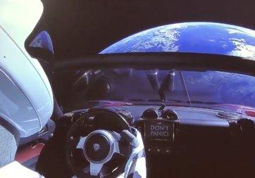 Uzaya gönderilen Tesla'da yerli parça