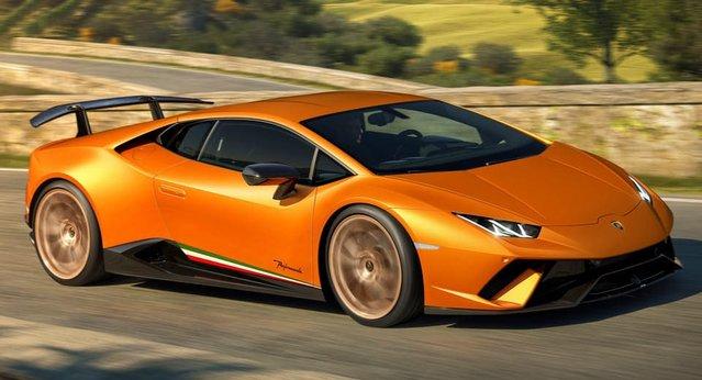 Karşınızda Lamborghini Huracan Performante