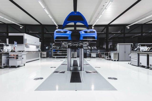 İşte Bugatti Chiron böyle üretiliyor