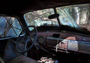 Ormandaki araba mezarlığının sırrı!