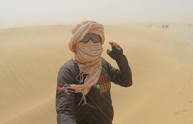 SAHRA'NIN İNSAN ETKİSİYLE ÇÖLLEŞTİĞİ İDDİA EDİLDİ