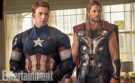 Avengers 2'den ilk resmi fotoğraflar geldi