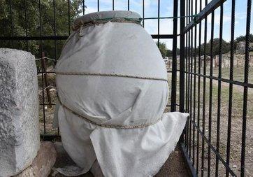Çanakkale'de 1500 yıllık küp bulundu!