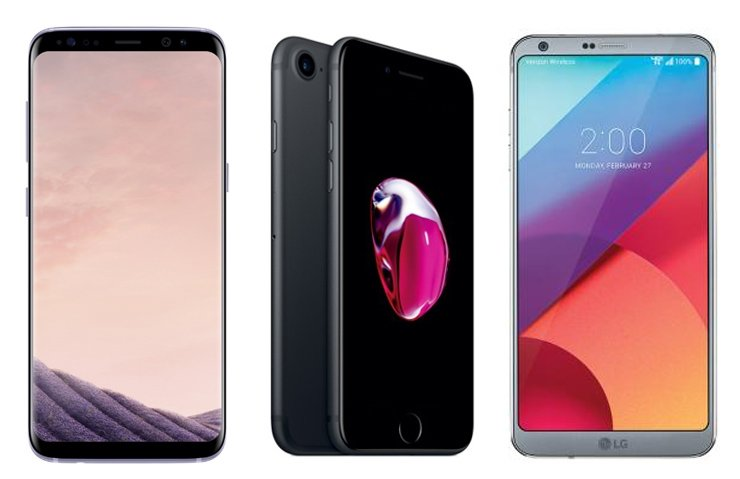 GALAXY S8, İPHONE 7 VE LG G6 KARŞI KARŞIYA!