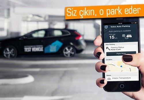 Volvo, kendi kendini park eden araba geliştiriyor