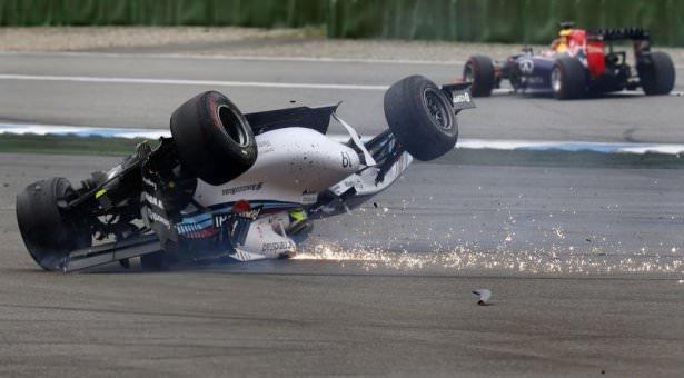Formula 1'de büyük kaza
