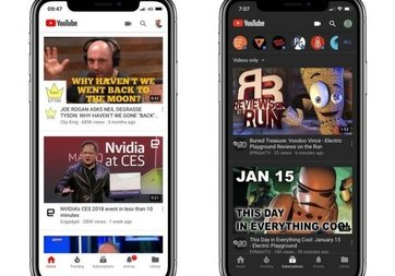 Youtube'un gece modu Android ve iOS'a geliyor!