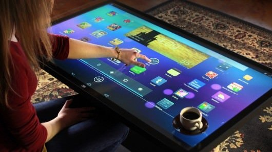 Karşınızda Android'li kahve masası!