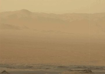 Mars'taki büyük toz fırtınası tüm gezegeni kapladı