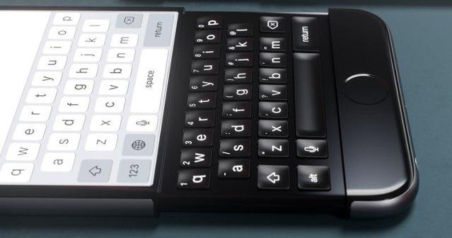 iPhone 7 fiziksel klavyeli olsaydı?