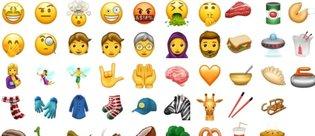 2017'de göreceğimiz 51 yeni emoji
