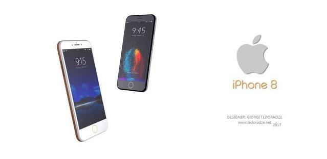 iPhone 8 konseptlerine arasına yeni model katıldı