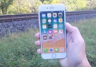 iPhone 8'e tren testi