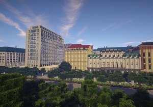 Minecraft'ta Viyana şehrini 1:1 ölçekli yaptılar!