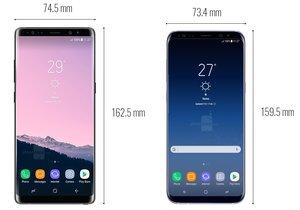 Galaxy Note 8 vs Galaxy S8 Plus: işte tüm farkları