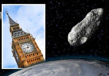Big Ben büyüklüğündeki dev asteroid Dünya'ya yaklaşıyor