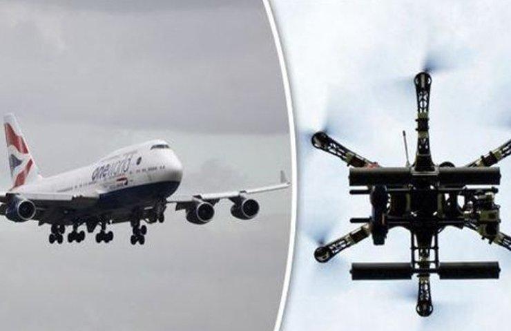 DRONE'LAR 3 YOLCU UÇAĞINI DÜŞÜRÜYORDU