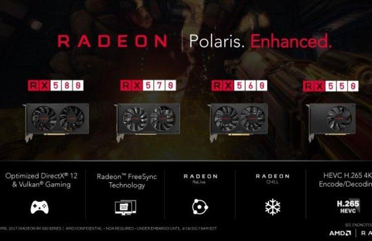 AMD RADEON RX 500 SERİSİ TANITILDI
