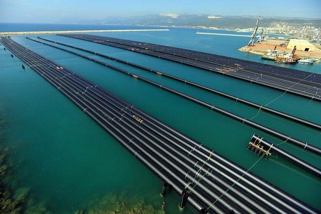 KKTC'ye yıllık 75 milyon metreküp su iletilecek