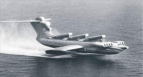 Ne gemi ne uçak işte Ekranoplan!