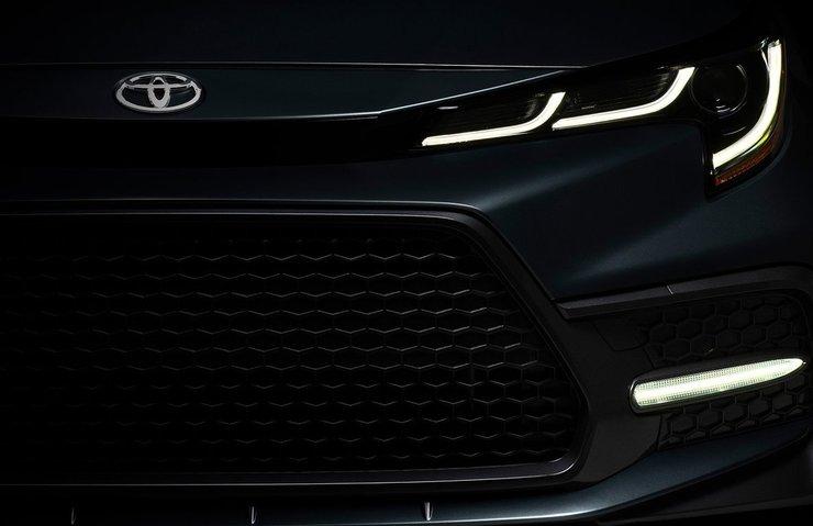 2020 Toyota Corolla Sedan resmen tanıtıldı