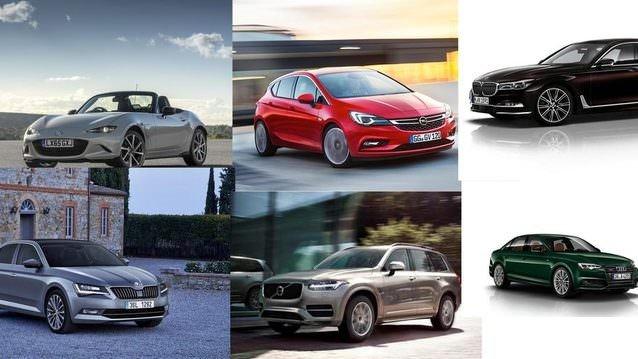 2016 Avrupa'da Yılın Otomobili adayları belli oldu