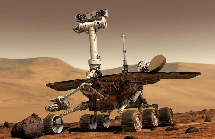 MARS ROBOTU OPPORTUNİTY İLE ERİŞİM KOPTU