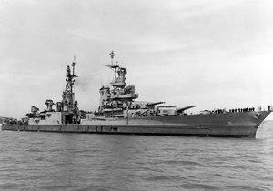 Kayıp savaş gemisi 72 yıl sonra bulundu