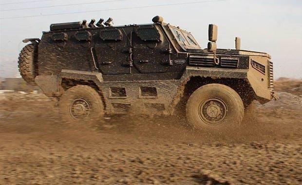 TSK'nın yeni zırhlı aracı: Hızır 4x4