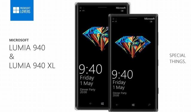 Microsoft Lumia 940 ve Lumia 940 XL böyle mi olacak?